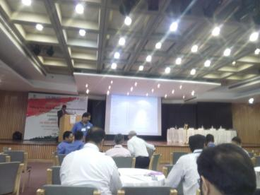 Attending IASC SSC 1st National Workshop at New Delhi