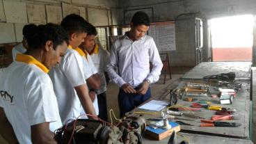 Assessment conducted by Eduworld under PMKVY 2 project for the Iron & Steel sector at location Ganjam.