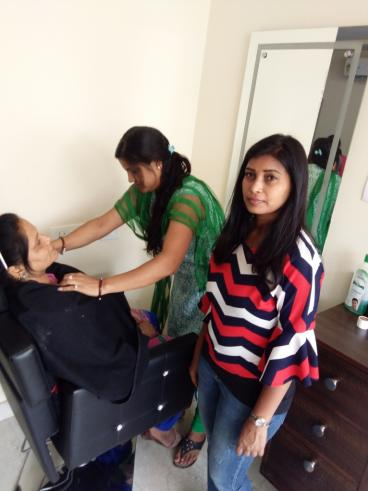 Assessment conducted by Eduworld under PMKVY 2 project for the Beauty Sector Skill Council at location Mohali