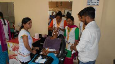 Assessment conducted by Eduworld under PMKVY 2 project for the Beauty Sector Skill Council at location Ludhiana