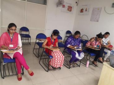 Assessment conducted by Eduworld under Non Star project for the Beauty Sector Skill Council at location Ludhiana