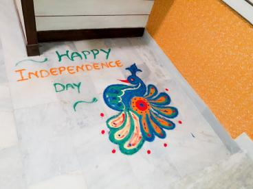 Independence Day Celebration at Eduworld.. Wishing u all Happy Independence Day..